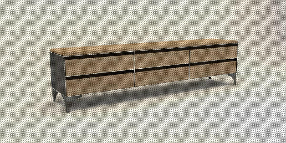 tv sideboard holz tv board rustikal dekoration ideen with. Black Bedroom Furniture Sets. Home Design Ideas
